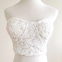 Isabelle Crochet Crop Top