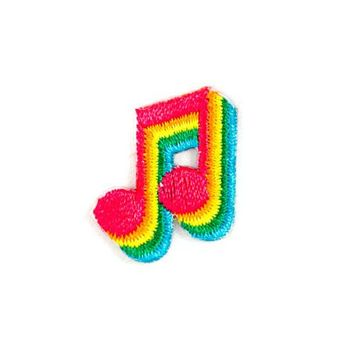 Music Note Mini Sticker Patch
