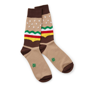 Men's Burger Socks | pictures of burgers