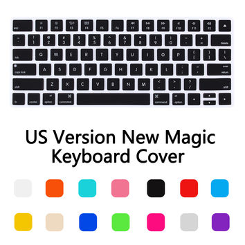 US Version Magic Wireless keyboard Silicone Keyboard Cover Protector Skin for Apple Macbook