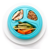 Portion Master Skinny Plate Weight Management Portion Control Plate