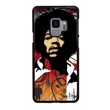 JIMI HENDRIX Art Samsung Galaxy S3 S4 S5 S6 S7 S8 S9 Edge Plus Note 3 4 5 8 Case