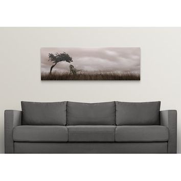 Premium Thick-Wrap Canvas entitled Dinosaur in grass | Overstock.com Shopping - The Best Deals on Gallery Wrapped Canvas