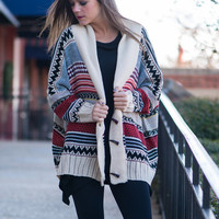 Ride The Breeze Cardigan, Cream