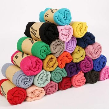 OB Color Fashion Blanket Color Shawls Hijab