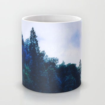 Blue Trees Mug by DuckyB (Brandi)