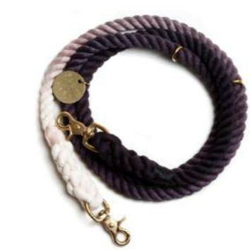 Adjustable Leash Black Ombre by Found My Animal at Baysidebuddy.com