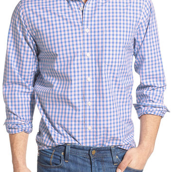 'Charles Town' Slim Fit Gingham Sport Shirt