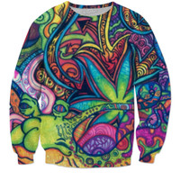Trippy hippie hoody
