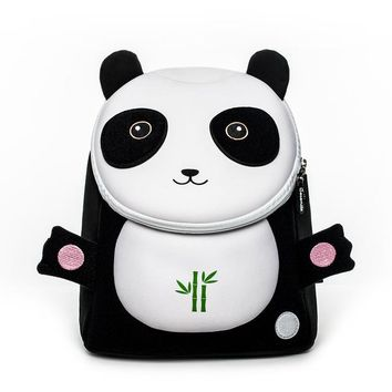 Toddler Backpack class Cocomilo Little boy Children's School Bags Backpacks 3D Cartoon Panda Small Backpack Toddler Baby Girls School for 3-5 Years Old AT_50_3