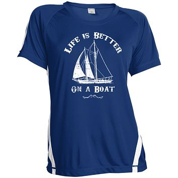 Life Is Better On A Boa Woments Shirts & Tanks