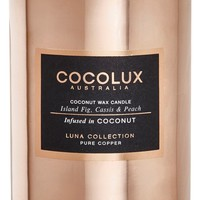 Cocolux Australia Island Fig, Cassis & Peach Copper Candle | Nordstrom