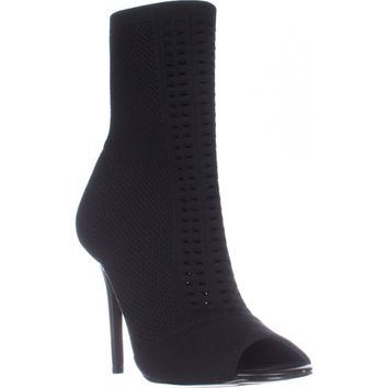 Charles by Charles David Rebellious Stretch Pull On Ankle Boots, Black, 7 US / 37 EU