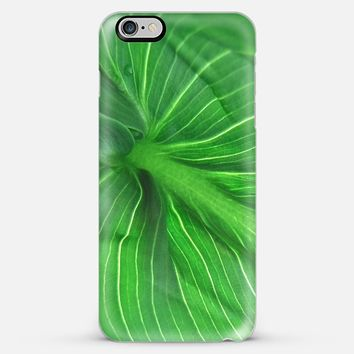 Leaf green I iPhone 6 Plus case by VanessaGF | Casetify