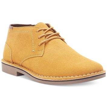 Authentic Men's Kenneth Cole Reaction Desert Sun Suede Chukka Boots Shoes Yellow 8