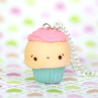 Happy Cupcake Necklace
