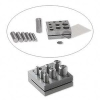 Round disc cutter set