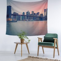 New York Gorgeous View Wall Tapestry