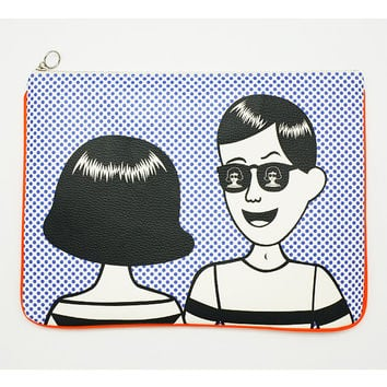 Oohlala Tabom sunglass big clutch bag