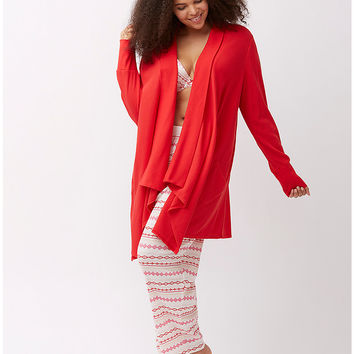 Thermal lounge wrap by Cacique | Lane Bryant