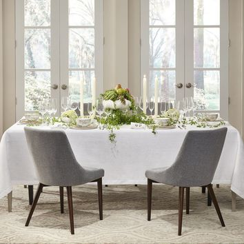 Tansy Ivory Tablecloths & Napkins