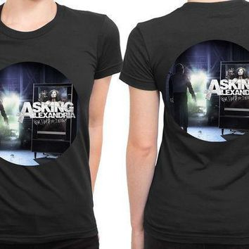 Asking Alexandria From Death To Destiny Cover 2 Sided Womens T Shirt