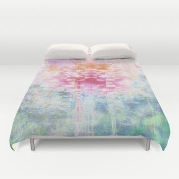 Deep Vision Duvet Cover by mirimo