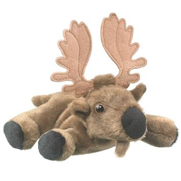 "7"" Elk Moose Finger Puppets Stuffed Animals Conservation Collection"