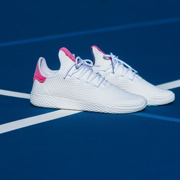 AA KUYOU Adidas by Pharrell Williams Tennis HU - White/Pink