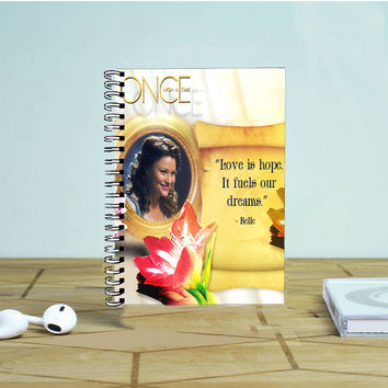 Belle Once Upon A Time Photo Notebook Auroid
