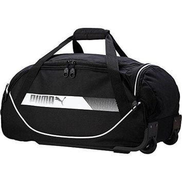 Puma Small Rolling Duffel Bag Travel Luggage