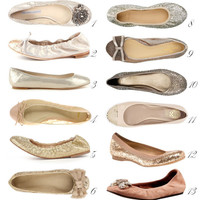 WedLuxe Fashion Report: Charming Ballet Flats