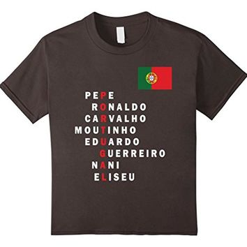 Portugal T-shirt Soccer National Football Team Jersey Player