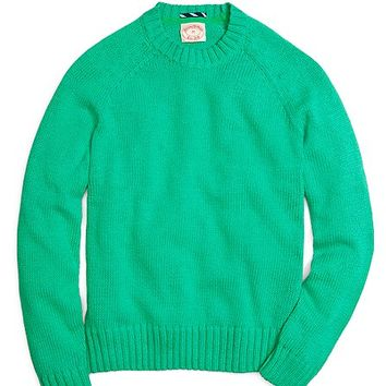 Textured Crewneck Sweater - Brooks Brothers