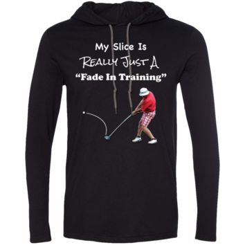 Golf Fade In Training LS T-Shirt Hoodie
