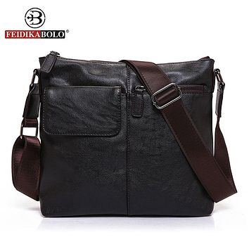 Messenger Bag Men Shoulder Bag Man Satchels Handbags PU Leather Sling Bags designer Men Cross body Bags