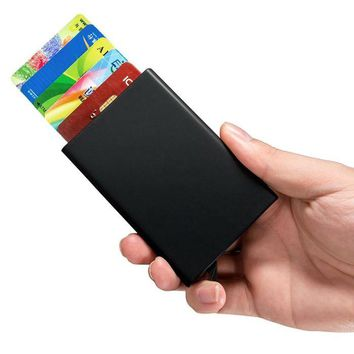 Compact RFID  Safe Credit Card Holder