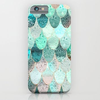 SUMMER MERMAID iPhone & iPod Case by Monika Strigel