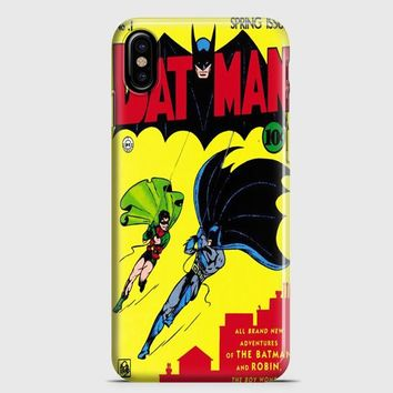 Vintage Batman iPhone X Case