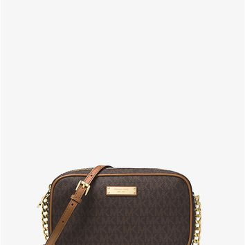 Jet Set Medium Logo Crossbody | Michael Kors