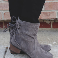 Collins Mid-Calf Boot - Grey