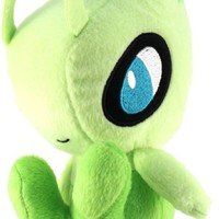 "Banpresto Banpresto Official Diamond and Pearl Banpresto Pokemon Plush Toy - 6"" - Celebi"