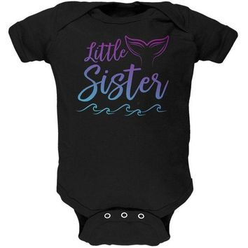 DCCKJY1 Little Sister Mermaid Tail Ocean Soft Baby One Piece