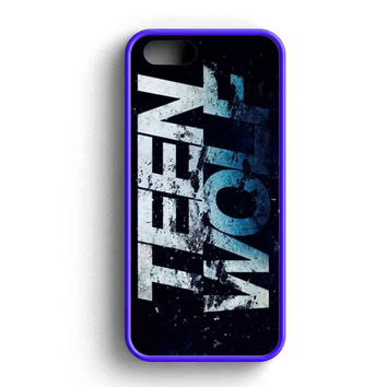 Teen Wolf Season 5  iPhone Case For iPhone SE, 5s, 5c, 4