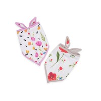 LITTLE UNICORN COTTON MUSLIN BANDANA BIB 2 PACK