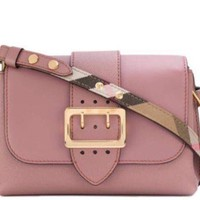 Burberry Women's Small Medley Shoulder Bag,Dusty Pink