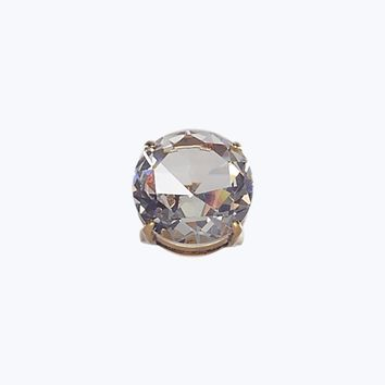 Large Stone Crystal Cocktail Ring - Marc Jacobs