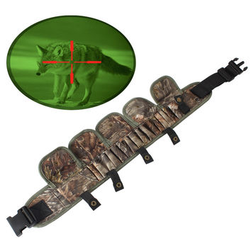 Military Molle Tactical Magazine Pouch Shotgun Shell Holder for Hunting Ammo Bags Bandolier 12 Gauge Cartridge Belts