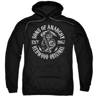 """Sons of Anarchy """"Redwood Originals"""" Hoodie  - Multiple Styles & Sizes"""