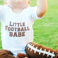 Baby Football Clothing| Little Football Babe : Football Clothing for Babies